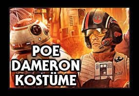 Star Wars Episode 7 Poe Dameron Kostüme